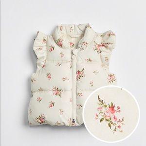 Baby Print ruffle vest